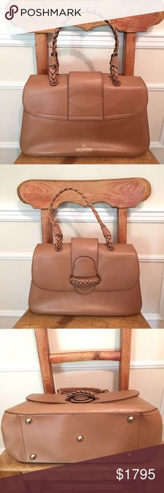 NWT, Authentic Valentino handbag. No bundle disc. This is as classic as it gets. Super chic . Beautiful camel color. Brand new comes with dust bag . No bundle discount Valentino Bags