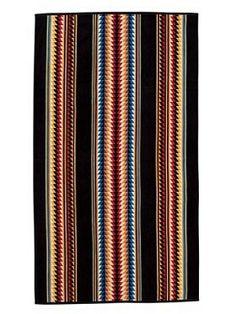 Pendleton Suwanee Stripe Spa Towel - Liz Ann's Interior Design Boutique.  Click here to purchase http://lizann.myshopify.com/collections/bath-1/products/pendleton-suwanee-stripe-spa-towel