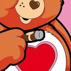 """The Secret Life of Heroes"" (Love Dealer) - by Grégoire Guillemin Pop Art Disney, Images Pop Art, Comic Book Superheroes, Cartoon Tv, Pin Up Art, Cultura Pop, New Art, Comic Art, Pop Culture"