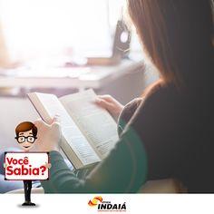 Você sabia que ler faz bem para a sua saúde? Isso mesmo!  Por exemplo: O hábito da leitura antes de dormir, faz com que você tenha um melhor sono. Além, também, de ajudar você no desenvolvimento de mais neurônios e de aliviar o estresse. fonte: Portal Dicas Sobre Saúde.