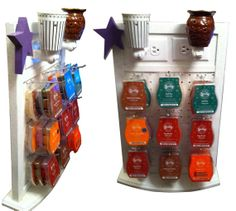 Scentsy display by Scubasteve77 on Etsy, $42.00