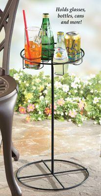 Portable Outdoor Beverage Table