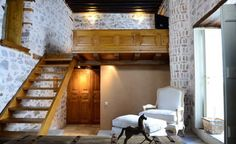 cotommatae 1910 hydra greece Boutique Hotels, Greece, Loft, Bed, House, Furniture, Home Decor, Greece Country, Lofts