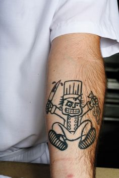 "Re-pin ""Kitchen Ink: South Florida Chef Tattoos - Miami New Times"" http://www.becomeapastrychef.com/"