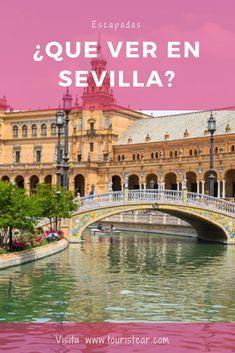 Best things to do in Seville (Spain) in a weekend Alcazar Seville, Surf, River I, Seville Spain, Granada, Weekend Trips, Beautiful Buildings, Spain Travel, Malaga