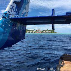 The #anantarakihavah #spa framed by the tail of the #DHC6 #TwinOtter #Seaplane in the #Baa Atoll #Maldives  #AviaTube #Aviation #Flying #Aircraft #Airplane #Airport #Flight #Avgeek #Travel #Planespotting #Pilot #Instagramaviation #Lifewelltravelled #BarefootPilots #Aviator #Instapassport #Crewlife #Expat