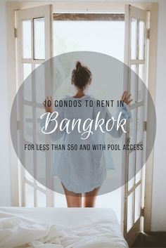 Visiting Bangkok? Why stay at an overpriced hotel with so many luxury condos available for as low price as $19 USD!