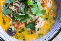 Keittiö ja kolme kerrosta: Flunssakeitto ilman kanaa