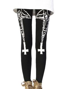 Amazing High Waist Star Printing Slim Women Leisure Leggings on buytrends.com
