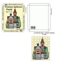 Miniature victorian puzzle