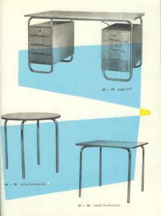 Internet Antiquarian Bookshop 108 Buddhas -- -- Furniture / Design -- Katalog nábytku 1961