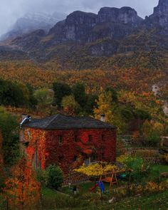 Papigko Village, Ioannina, Greece - by Alexandros Malapetsas Greece Pictures, Places In Greece, Greece Travel, Natural Wonders, Nature Photography, Beautiful Places, Scenery, Exterior, Landscape