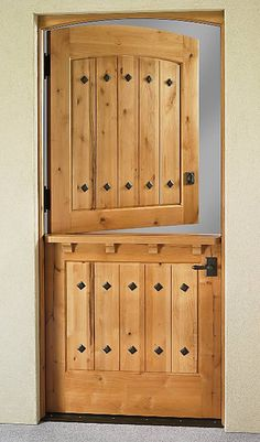 We used to have one of these as our front door when I was little... Great for the summer!