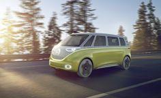 Volkswagen I.D. Buzz, Elektrikli MiniBüs, Kendi Kendine Gidebiliyor! Volkswagen ilk olarak eski klasiklerinin Elektrikli Sürümleri Yeniliyor!