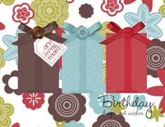 Birthday Gifts by ruby-heartedmom - Cards and Paper Crafts at Splitcoaststampers