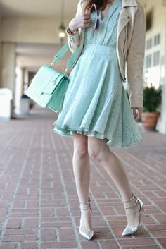 love this refreshing #mint combination from @Mara Ferreira