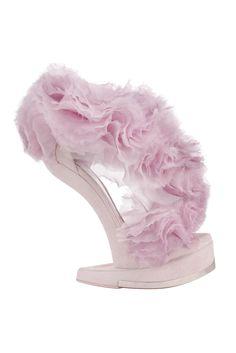 fall 2012, Alexander McQueen, shoes, sandals, platforms, purple