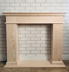 Fireplace Facing, Faux Fireplace Mantels, Simple Fireplace, Fireplace Update, Fireplace Built Ins, Home Fireplace, Fireplace Remodel, Fireplace Surrounds, Fireplaces