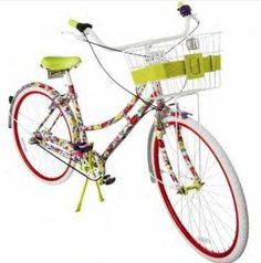 Cool bike for florida, from Neiman Marcus......so cute!