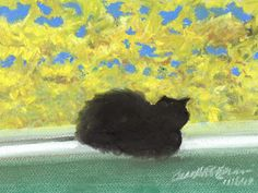 Daily Sketch Reprise: Emeraude's Autumn Afternoon, 2013