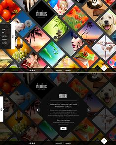 Website Template #45411 - MonsterTemplate - Bootstrap design (Ajax) -- Author Delta. Might be good for a gallery.
