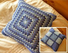 granny square pillows / cojines