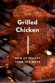 Revitalize your reheated leftover grilled chicken so you can make salads, pasta, or tacos. Grilled Chicken Leftover Recipes, Leftover Rotisserie Chicken, Grilled Chicken Salad, Easy Chicken Recipes, Chicken Pasta Dishes, Chicken Plating, Leftovers Recipes, Quick Snacks