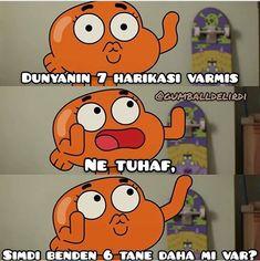 Gumball and Darwin Komik Sahneler Scream Meme, Best Memes Ever, Rap, Good Sentences, Wattpad, World Of Gumball, Entertainment, Darwin, Funny Cartoons