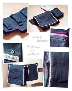 Armadillo, Fanny Pack, Pdf, Wallet, Sewing, Pattern, Fashion, Tutorials, Taschen