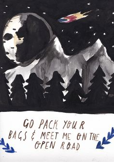 Pack your Bags by Dick Vincent Illustration