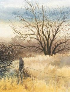 Kathy Hill   WATERCOLOR