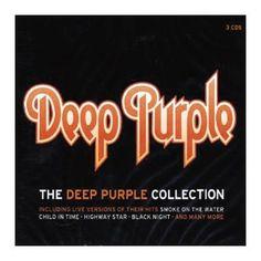 """L'album dei #DeepPurple intitolato """"The Deep Purple collection""""."""