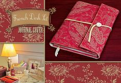 French Desk Set: Journal Cover