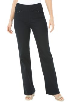 Plus Size Comfort jean, with wide waist