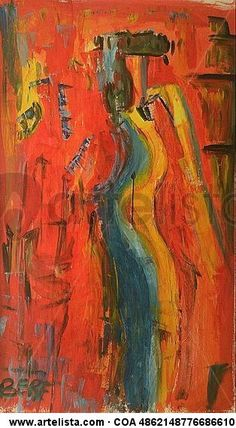 Comprar Sin titulo - Pintura de Berenice Loyo por 461,00 EUR y 5% de descuento en Artelista.com, con gastos de envío y devolución gratuitos a todo el mundo