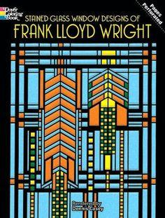 Frank Lloyd Wright's geometrical class design work.