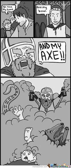LOTR - Axe body spray