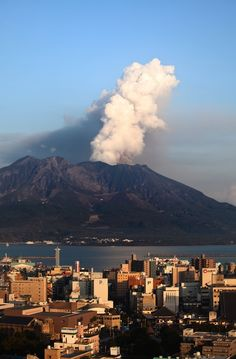 Mount Sakurajima is one of the world's most active volcanoes, with hundreds of years of explosive eruptions.