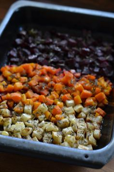 Hunajaiset Uunijuurekset | Maku Ratatouille, Chana Masala, Macaroni And Cheese, Salsa, Side Dishes, Good Food, Fun Food, Bbq, Food And Drink