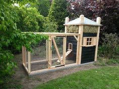Best Chicken Coop, Building A Chicken Coop, Farmhouse Garden, Garden Deco, Natural Lifestyle, Raising Chickens, Animal House, Green Life, Coops