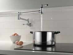 1177LF Traditional Wall Mount Pot Filler Faucet - Traditional