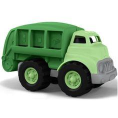 Recycle Truck van Green Toys. Leuk voor binnen en buiten, gemaakt van gerecycled plastic.