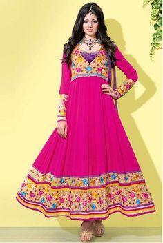 Ayesha Takia Pink Georgette Suit