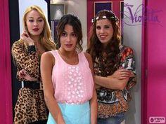 Ludmila , Violetta y Camila