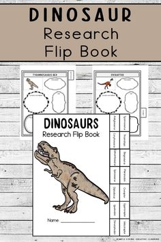 Dinosaur Research Flip Book