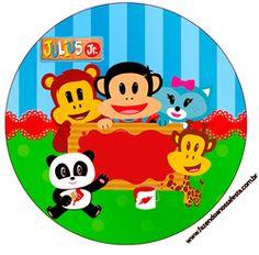 "Imprimés Thème ""Julius Jr"" : http://fazendoanossafesta.com.br/2014/12/julius-jr-kit-festa-infantil.html/"