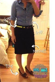 Ms. BBZ: Teacher Clothes: Toms + NEON! She take only 15min to get ready every morning?!! How??