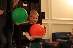 Toddler Approved!: Active Indoors- Balloon Tennis