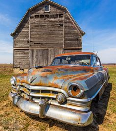 Rusty Barn Car By Jonny Volk On 500px Vieux Trains Junkyard Cars Vintage Trucks