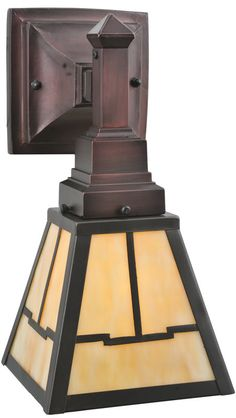 Interior Craftsman, Bungalow, Mission, Arts and Crafts Style Lighting - Old California Lantern ...